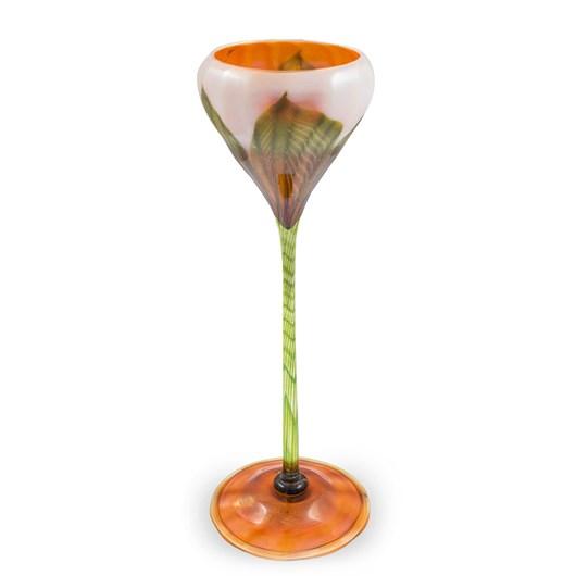 Rare Floriform vase, 1906