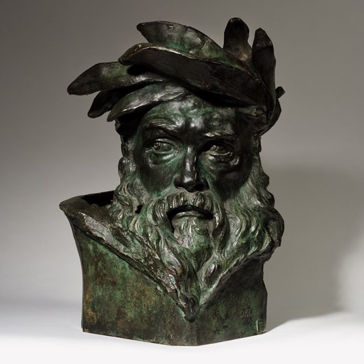 Head of a River God, Study for Crossing the Rhine