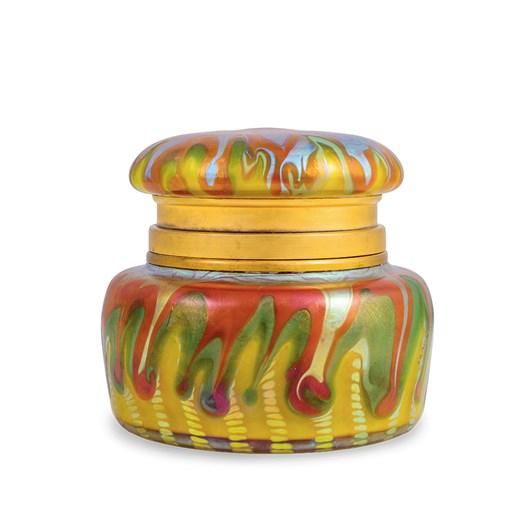 Lidded Jar decor PG 413 , ca. 1902