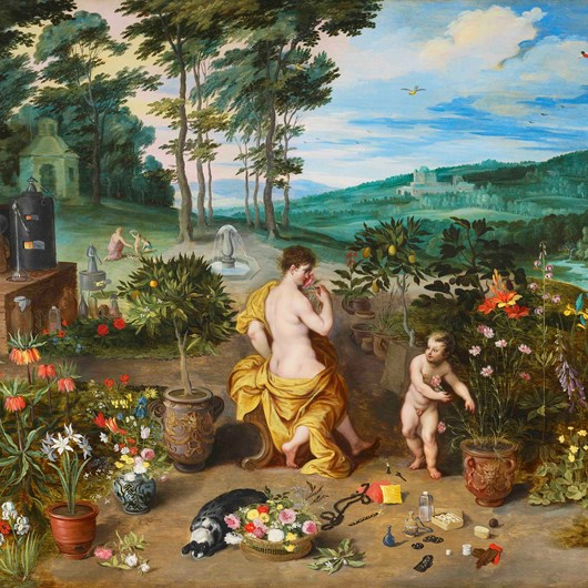 Spring or The Allegory of Smell