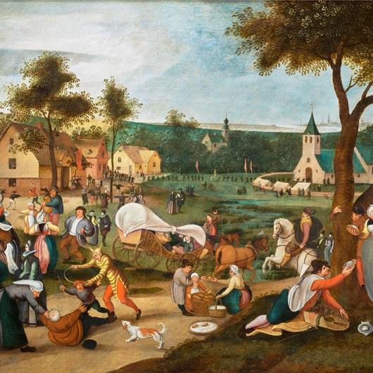 Village kermesse with Till Eulenspiegel