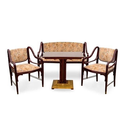sitting room suite, J. & J. Kohn, design 1901