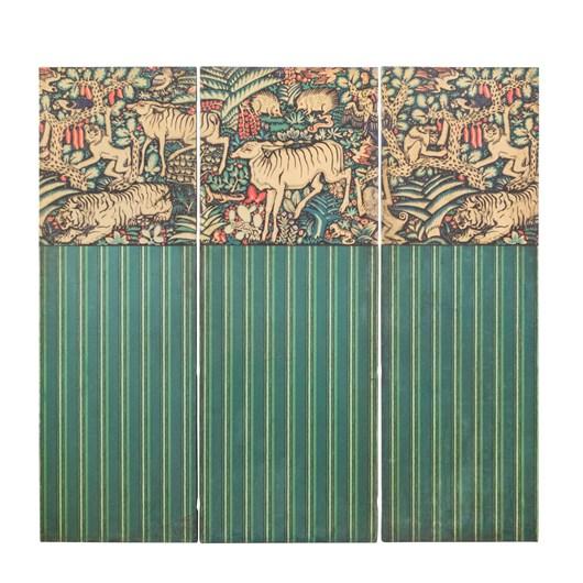 Three Wall Panels