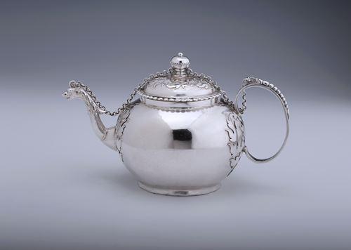 An Early Cut-Card Teapot