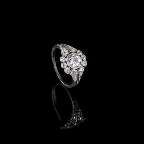 Elegant Edwardian ring