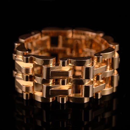 Rosegold Machine-Age bracelet