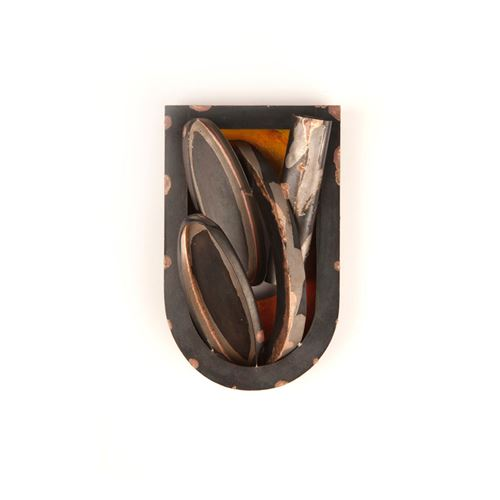 FRAME II brooch
