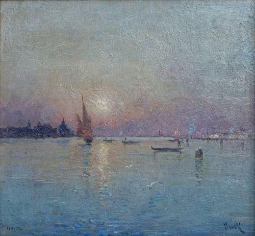 Coucher de Soleil sur Venise