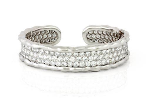 Cuff bracelet designed by Van Cleef & Arpels