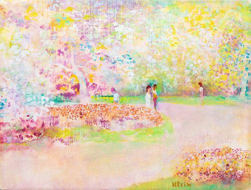 Parc au printemps