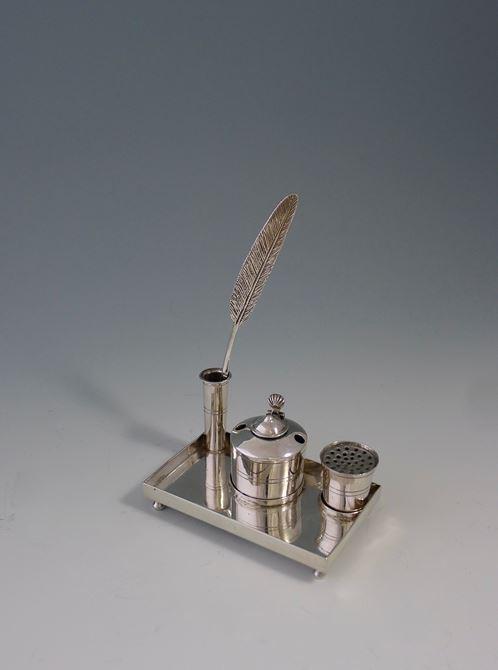 Miniature silver ink set