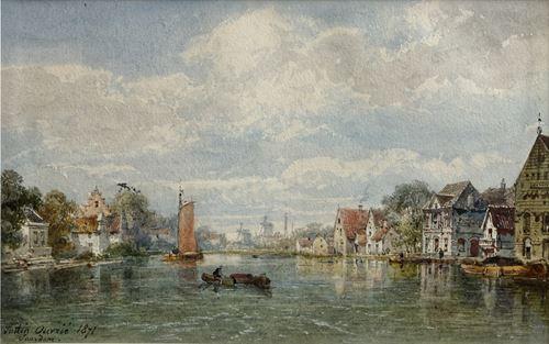 Vue de Saardam (Zaandam)