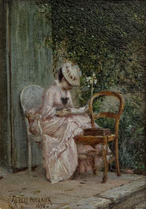 Femme à la lecture