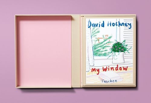 David Hockney. My Window. Collector's Edition