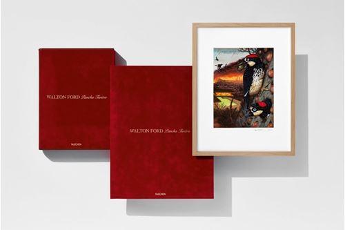 Walton Ford. Pancha Tantra. Art Edition No. 1–100 'Granary'