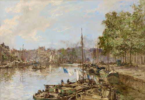 De Wijnhaven te Rotterdam, Waschdag